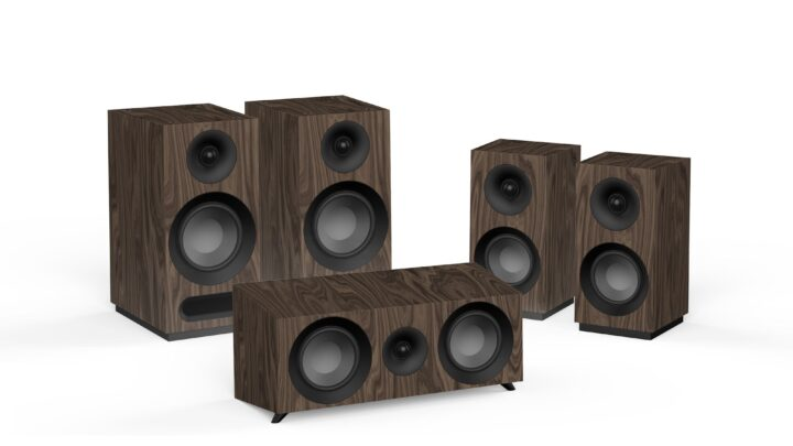 S 803 HCS là bộ loa xem phim nghe nhạc 5.0 gồm 5 loa con nhỏ xinh