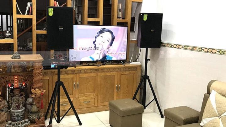 Tư vấn dàn karaoke gia đình đáp ứng tốt nhu cầu giải trí nhất