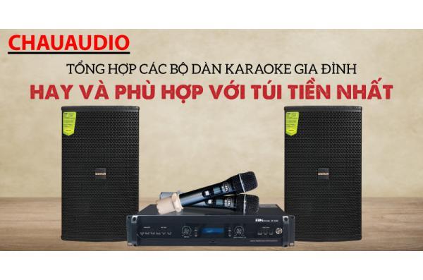 Khám phá các bộ dàn karaoke gia đình hay và có giá 'mát mẻ'