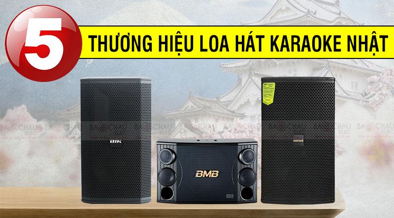 Top 5 thương hiệu loa hát karaoke Nhật Bản hay không tưởng
