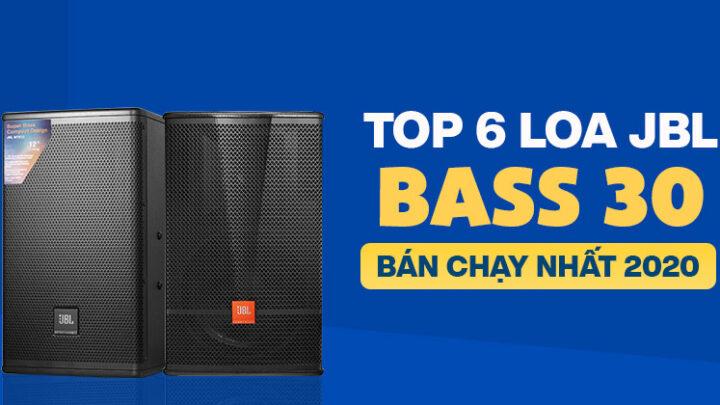 Top 6 Loa JBL bass 30 bán chạy nhất năm 2020 tại Bảo Châu Elec