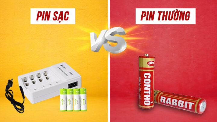Nên dùng pin sạc hay pin thường 1 lần cho micro không dây