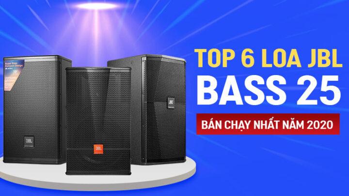 Top 6 Loa JBL bass 25 bán chạy nhất năm 2020 tại Bảo Châu Elec