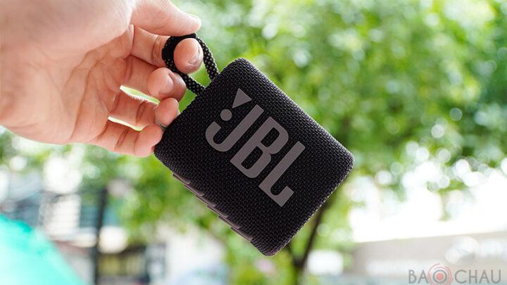 Loa JBL Go 3: Loa nhỏ mà có võ, chống nước tuyệt vời