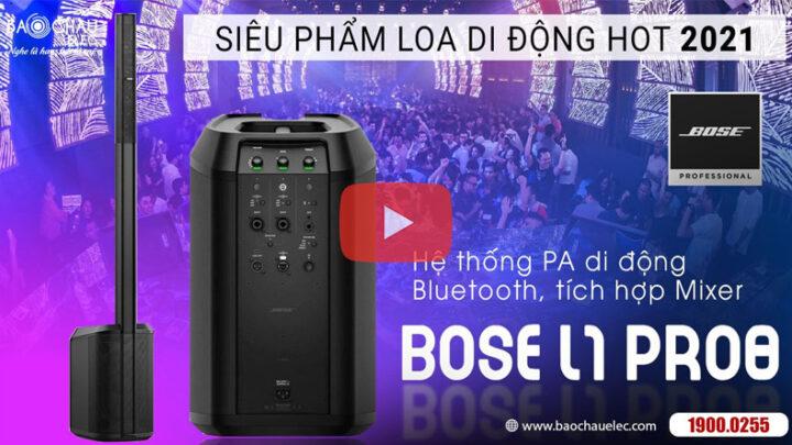 Loa Bose L1 Pro8 – Loa Di Động Biểu Diễn Chuyên Nghiệp, Bluetooth, có Mixer, hát karaoke, nghe nhạc