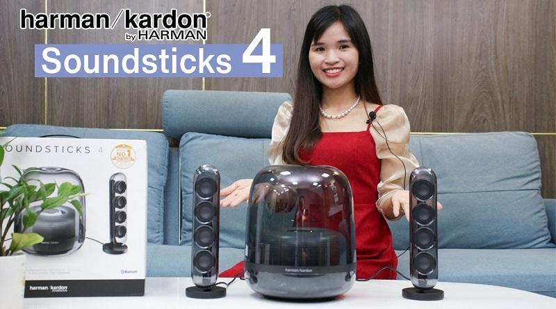 Đánh giá Loa Harman Kardon Soundstick 4, Loa bluetooth Chính Hãng, biểu tượng vượt thời gian