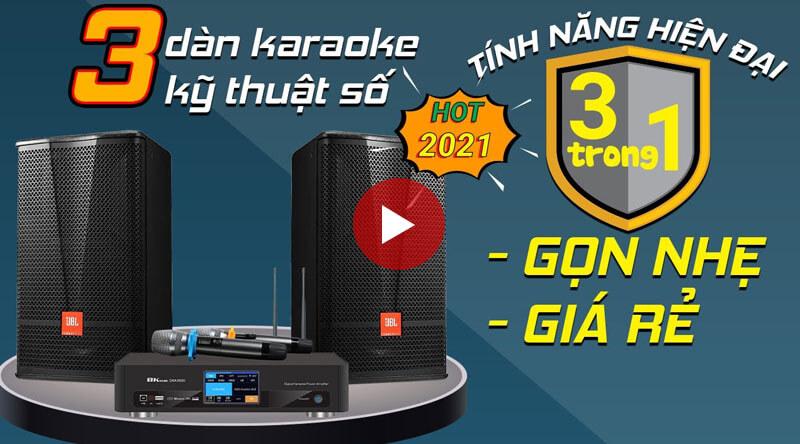 3 Dàn karaoke gia đình hiện đại, Gọn Nhẹ, Giá Rẻ Chất Âm Hay Đáng Mua Nhất 2021