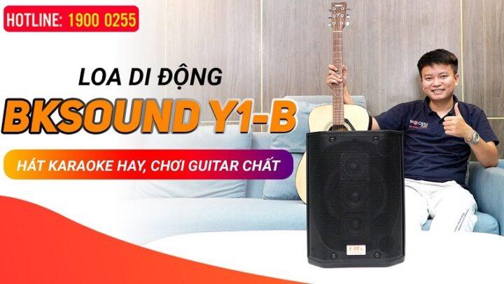 Loa di động BKSound Y1B – Loa nhỏ gọn mà hát karaoke hay chơi guitar ngon