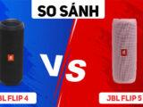 So sánh JBL Flip 5 vs JBL Flip 4: Đâu là mẫu loa siêu hot