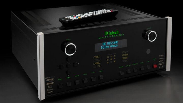 Đầu McIntosh MX123 AV Processor nay đã hỗ trợ nội dung 8K/60Hz ở phiên bản mới